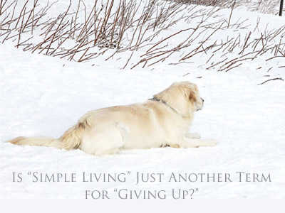 is-simple-living-just-another-term-for-giving-up