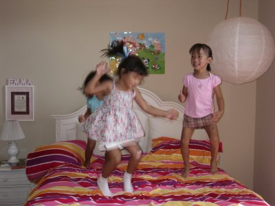 Three Little Monkey's Jumping on the Bed