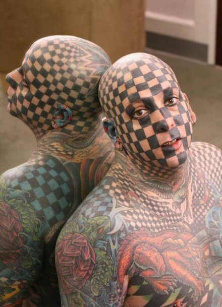 checker-tattoo-is-bloody-weird-but-cool